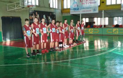Первенство МО город Краснодар по баскетболу среди команд юношей2004-2005г.р. и моложе